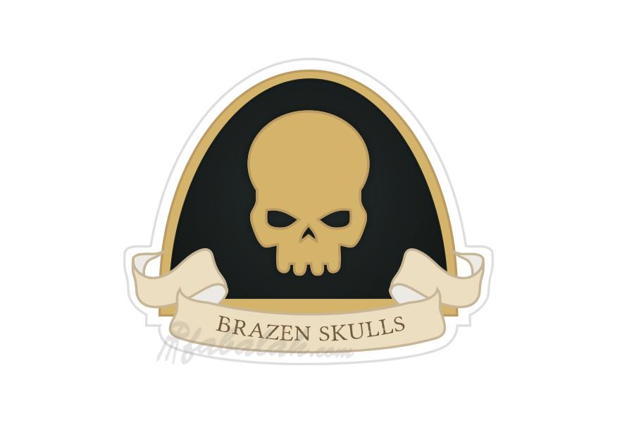 ByFabalah-40k-BrazenSkulls